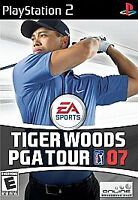 Tiger Woods PGA Tour 07 (Sony PlayStation 2, 2006) PS2 Disc only