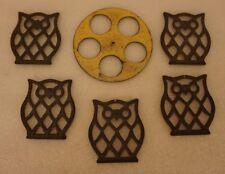 Vintage Brass Owl Wind Chime Kit