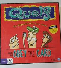 Quelf The Unpredictable Party Game 2012 - Factory Sealed!