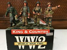 King & Country WS050 - Foot Patrol - Late-War Waffen SS Panzer Grenadiers
