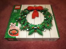 LEGO CHRISTMAS WREATH 2IN1 40426 - NEW/BOXED/SEALED