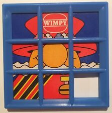 Wimpy Burger - Slide Puzzle - Toy - Game - 1983