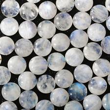 Wholesale Lot 6mm Round Cabochon Natural Moonstone Loose Calibrated Gemstone
