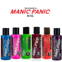 4 x Manic Panic Amplified Semi-Permanent Hair Color Various Colours 118ml