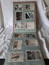 More details for vintage black and white photos in album various subjects..