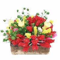 1:12 Dollhouse Miniature Plant/Flower Colorful Bloosom Flower OP011