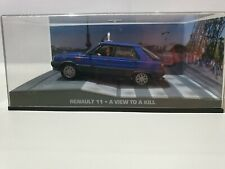 James Bond Diecast Car Collection 1/43 Scale - Renault 11 with #53 magazine