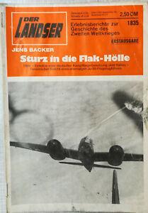 Der Landser 1835 Sturz in die Flak-Hölle 1944 Kampfflieger Italien Lunkers Ju 88