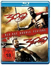 300 (Gerard Butler) + 300 RISE OF AN EMPIRE (Sullivan Stapleton) 2 Blu-ray Discs
