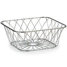 Rectangular fruit basket, chrome steel, ZELLER
