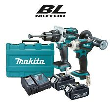 Makita 18v (5.0Ah) LXT Lithium Ion Cordless 2pce Brushless Combo Kit LATEST