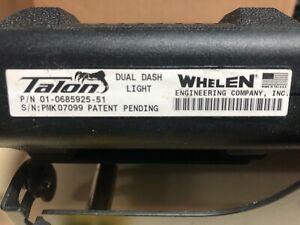 Whelen Talon Dual dash/visor/deck R/R LED