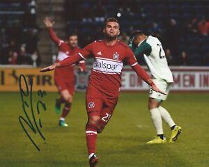 Nemanja Nikolic Signed 8x10 Photo Chicago Fire SC MLS Soccer Autographed COA