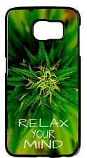 New Marijuana Weed Leaf Case For Samsung Galaxy & Note Rubber TPU or Hard Cover