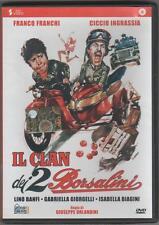 IL CLAN DEI 2 BORSALINI  CON  FRANCHI  E INGRASSIA  -   DVD    (COME NUOVO)