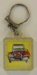 porte clé Citroën 2cv et DS Portachiavi key ring Schlüsselring Citroen clef 2 cv