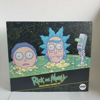 Rick & Morty Mondo Exclusive DELUXE FIGURE SET Adult Swim NEW & SEALED
