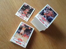 Complete Set Fleer 1990-1NBA Basketball trading cards 1-198 Inc Michael Jordan