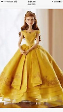 NIB Disney Limited Edition Belle Doll Live Action 17'' Beauty and the Beast