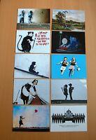 """SET OF TEN BANKSY.(7""""x5"""") (178x127mm) SIZE PHOTO  PRINTS ONLY £4.99..."""