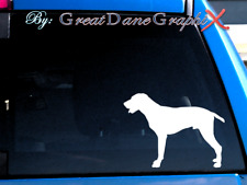 German Shorthaired Pointer #2 -Vinyl Decal Sticker -Color Choice -High Quality