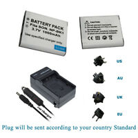 Battery/ Charger for Sony MHS-PM5 High Definition MP4 bloggie HD Video Camera