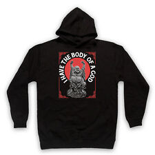 I HAVE THE BODY OF A GOD BUDDHA FUNNY FAT GOD COMEDY ADULTS KIDS HOODIE