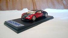 1/43 LS114A looksmart Bugatti Veyron Study 2003 black / red n autoart