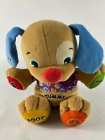 Fisher Price Laugh and Learn Musical Talking Puppy Dog Toy with Light up Heart