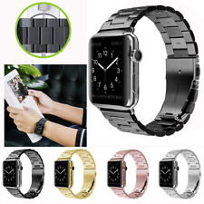 For iWatch Apple Watch Serie 4 3 2 1 Stainless Steel Wrist Band Strap 42mm 38mm