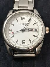 Guess Men's Stainless Steel Watch with Link Bracelet