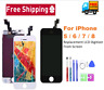 For iPhone 5, 6 7, 8 and Plus LCD Display Touch Screen Digitizer Replacement Kit