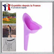Pisse debout féminin silicone pliable réutilisable  urinoir portable  pour femme