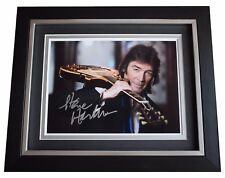 More details for steve hackett signed 10x8 framed photo autograph display genesis music coa