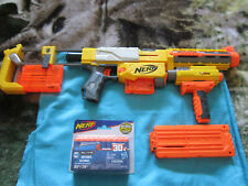 Nerf N strike Recon CS6 with Stock, 3 Clips, Extended Barrel, Red Dot, ammo