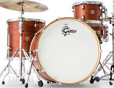 GRETSCH Catalina Club ROCK Satin Walnut 4pc Drum Set Shell Pack - FREE SHIPPING