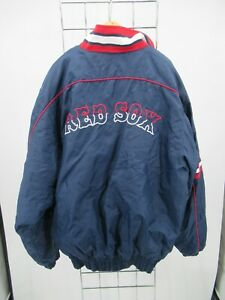H1537 Majestic Boston Red Sox MLB-Baseball Windbreaker Jacket Size XL