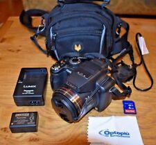 Panasonic LUMIX DMC-FZ45 - 14.1MP Digital Camera; 24x zoom; 4GB card; Charger