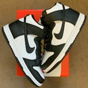 Nike Dunk High Panda Black White DB2179-103 GS Size 5.5Y-7Y | FAST SHIP 🔥
