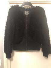 Label Lab Shaggy Mongolian Type Fur Jacket Coat Size L