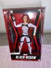 Barbie Marvel Black Widow in White - Disney Limited Edition Doll