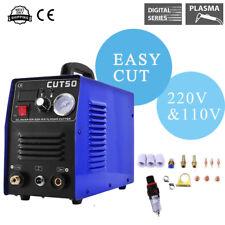 50A Plasma Cutter Digital Inverter Dual Voltage  Plasma Cutter 110/220V