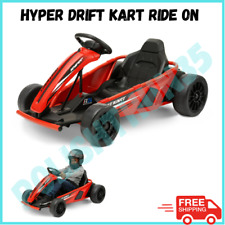 24V Electric Drift Go Kart, Battery Powered, Red, Age 8+, Great Gift