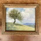 """Hudson River School Painting By Listed Artist Thomas Casilear Cole """"Lone Tree"""""""