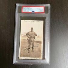 Ernie Lombardi HOF Signed 1935 Cincinnati Reds Original Photo PSA DNA Certified