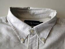 Ralph Lauren Classic Fit Herren Hemd Langarm Weiß Unifarben Gr. L TOP!