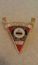 CURLING PIN VERNON CURLING CLUB B.C.