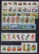 Madagascar 1990's Group of 7 Topical Sets + 8 Souvenir Sheets MNH CV$75