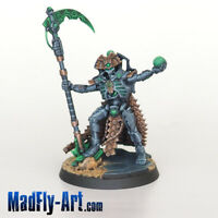 Necron Overlord PRO5 painted MadFly-Art