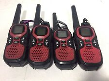 Lot Of 4 Gmr3040-2Ckhs 30-Mile Gmrs Radios and Noaa Weather